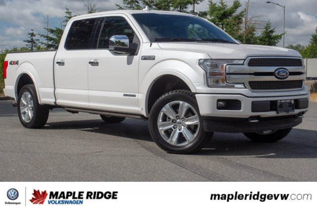 Pre-Owned 2018 Ford F-150 Platinum ONE OWNER, NO ACCIDENTS, BC CAR, POWER STROKE DIESEL!