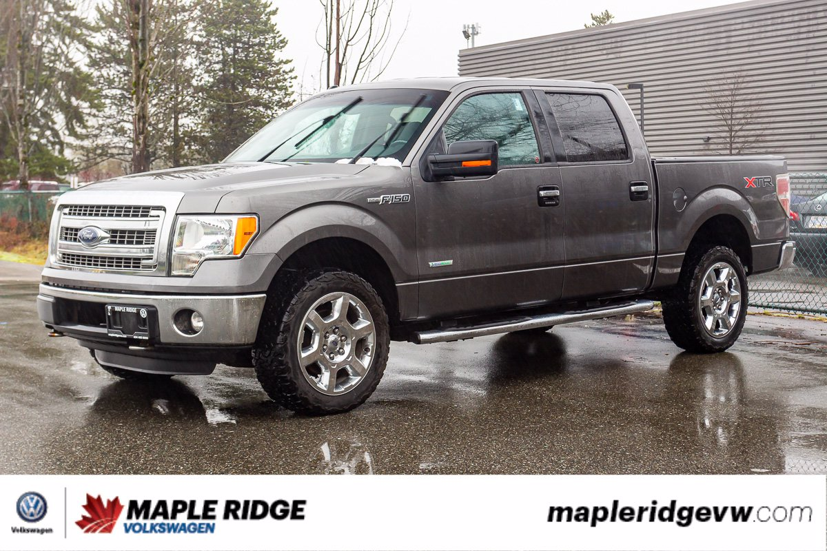 Pre-Owned 2013 Ford F-150 XLT 4X4, CREW CAB, ECOBOOST, WELL MAINTAINED, LOCAL TRUCK!