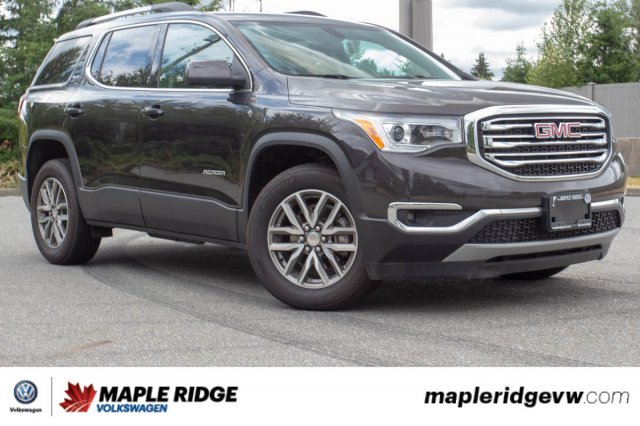 Pre-Owned 2018 GMC Acadia SLE-2 NO ACCIDENTS, BC CAR, ONE OWNER