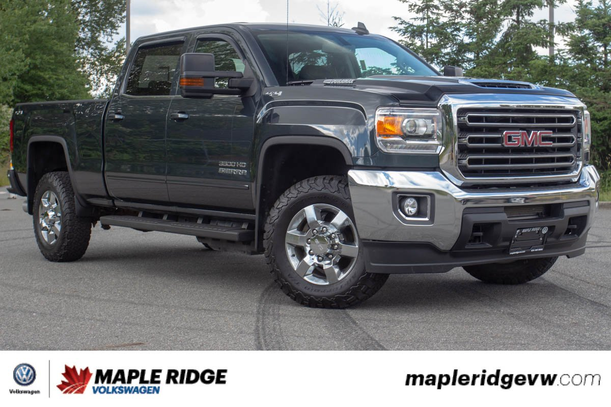 Pre-Owned 2018 GMC Sierra 3500HD SLE ONE OWNER, BC CAR, SUPER LOW KM!