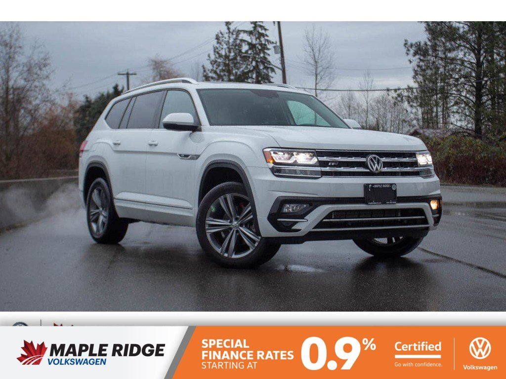 Certified Pre-Owned 2018 Volkswagen Atlas Highline ONE OWNER, NO ACCIDENTS, LOCAL CAR!