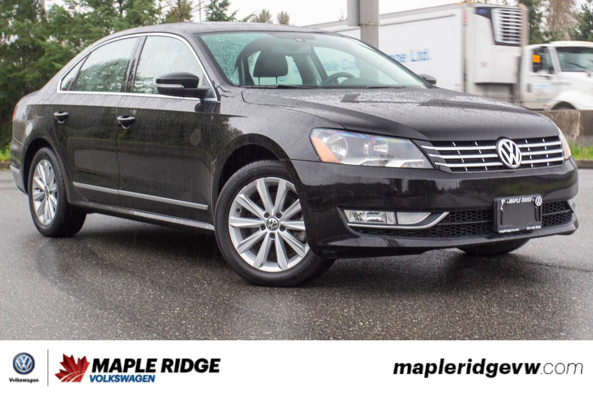 Pre-Owned 2014 Volkswagen Passat Highline TDI NO ACCIDENTS, SUPER LOW KM, B.C. CAR!