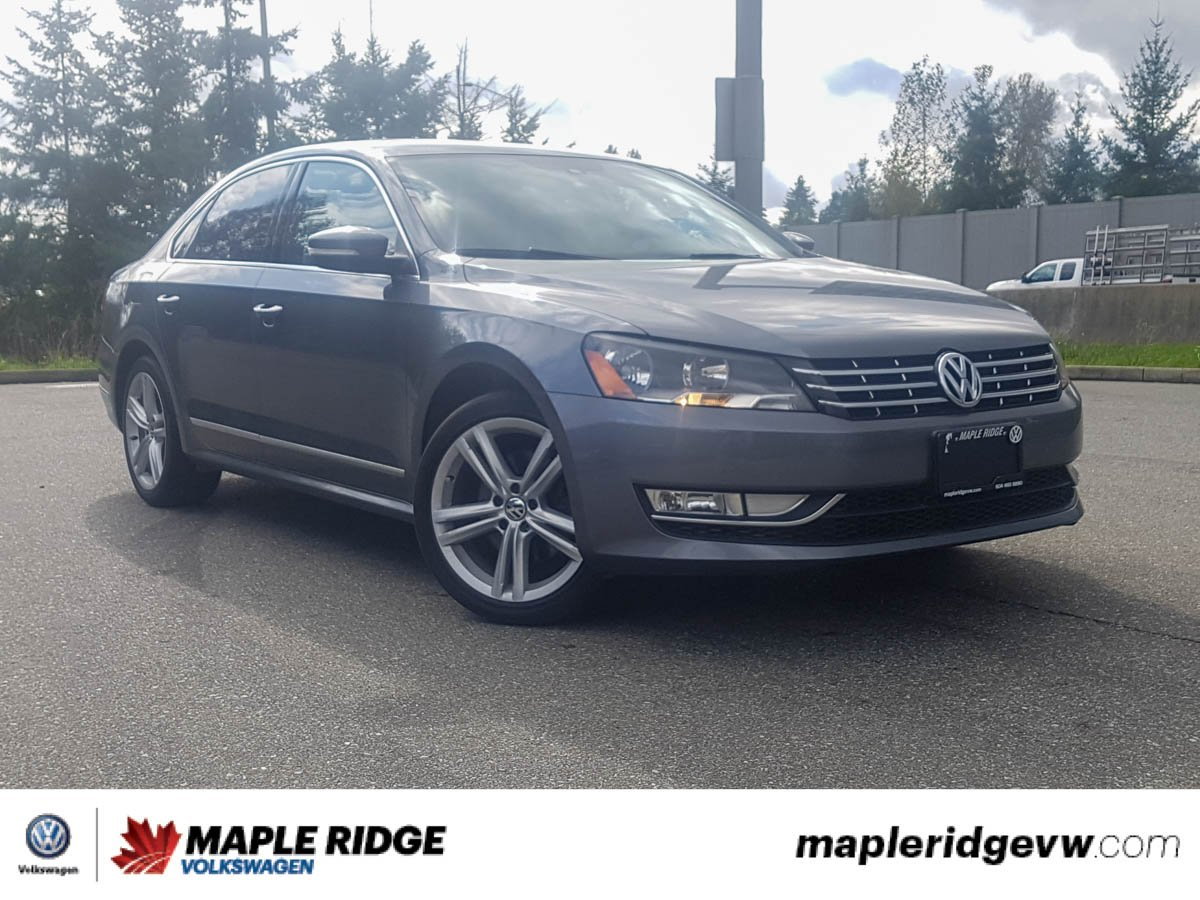 Pre-Owned 2014 Volkswagen Passat Highline TDI NO ACCIDENTS, GREAT PRICE, LOCAL CAR!