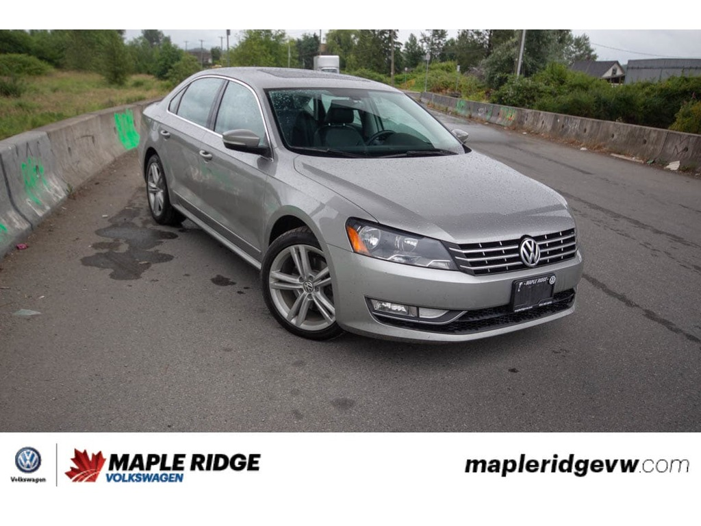 Certified Pre-Owned 2013 Volkswagen Passat - DIESEL,BC CAR,NAVIGATION,SUNROOF,LEATHER