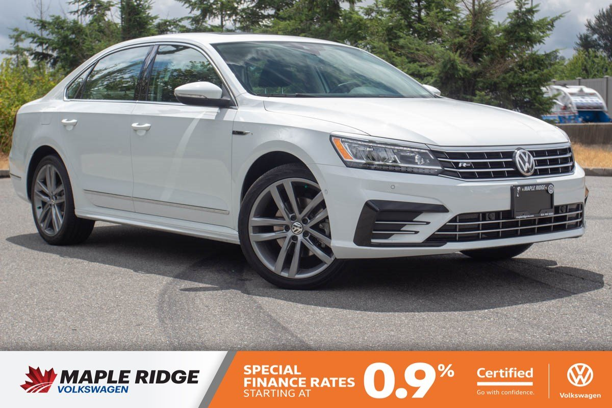 Certified Pre-Owned 2018 Volkswagen Passat Highline ONE OWNER, NO ACCIDENTS, LOCAL CAR!