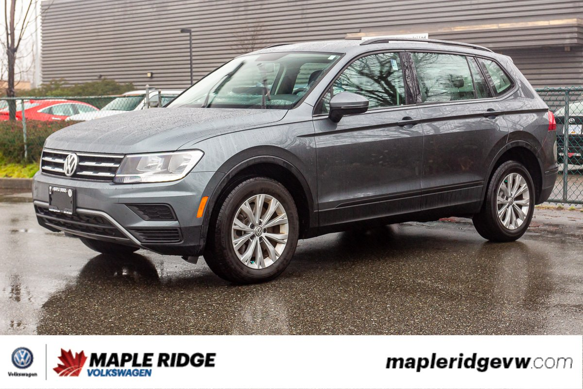 Pre-Owned 2018 Volkswagen Tiguan Trendline 4MOTION AWD, ONE OWNER, NO ACCIDENTS, LOCAL SUV!