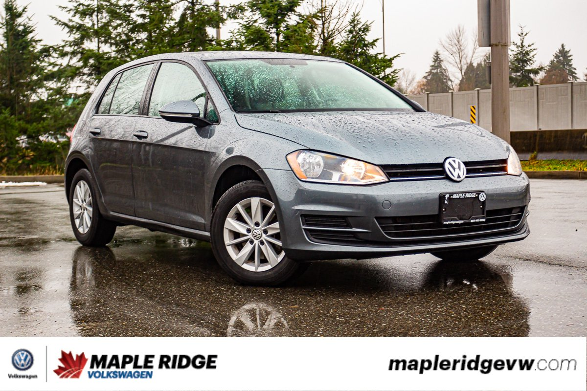 Pre-Owned 2016 Volkswagen Golf Trendline ONE OWNER, NO ACCIDENTS, LOCAL CAR!