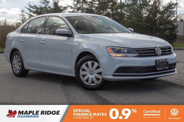 Certified Pre-Owned 2017 Volkswagen Jetta Sedan Trendline+ ONE OWNER, LOCAL, NO ACCIDENTS!