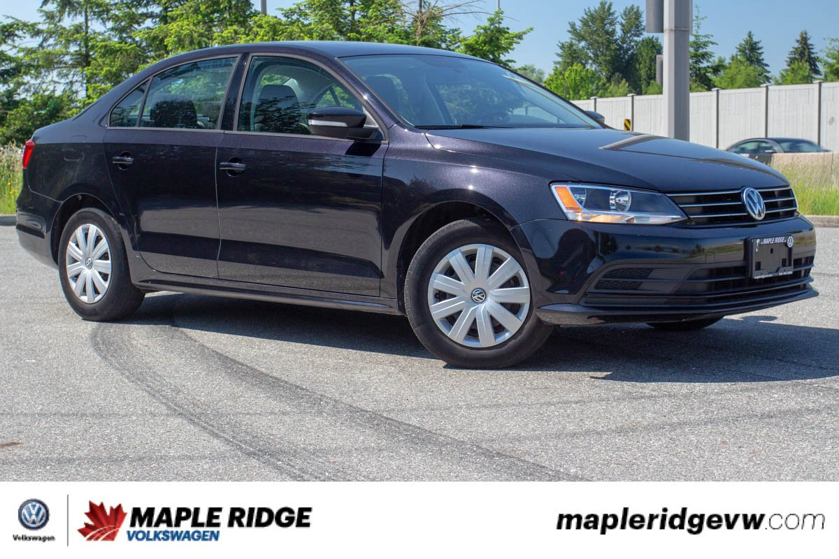 Pre-Owned 2015 Volkswagen Jetta Sedan Comfortline LOCAL CAR, PRICED TO SELL, GREAT CONDITION!