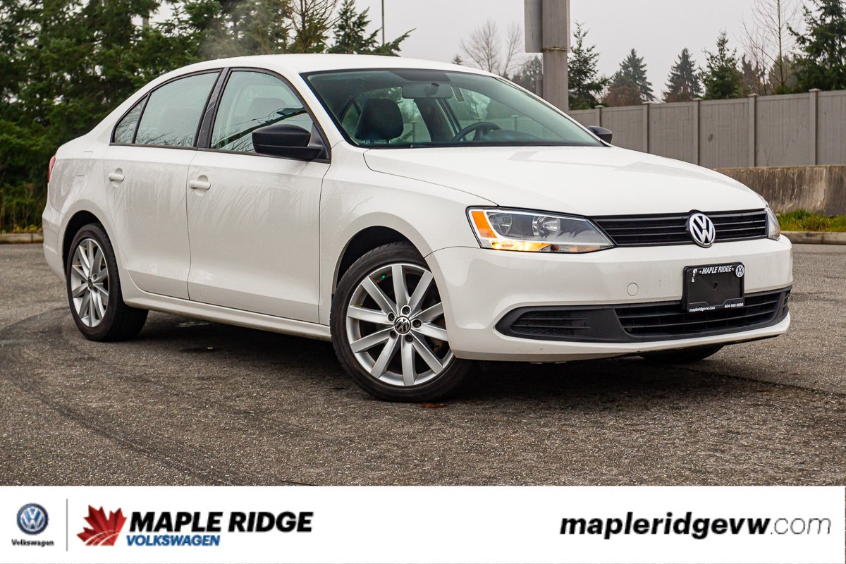 Pre-Owned 2012 Volkswagen Jetta Sedan Trendline+ NO ACCIDENTS, LOW KM, LOCAL CAR!