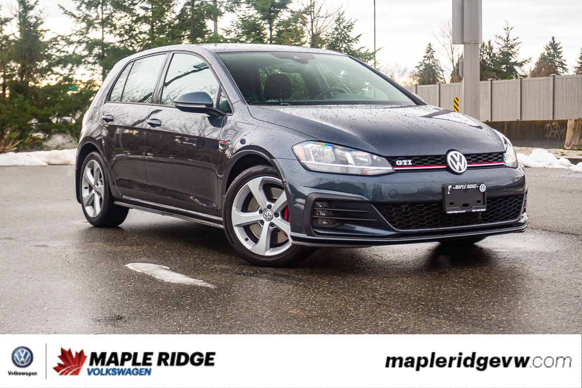 Pre-Owned 2018 Volkswagen Golf GTI LOW KM, SINGLE OWNER, NO ACCIDENTS, LOCAL CAR!
