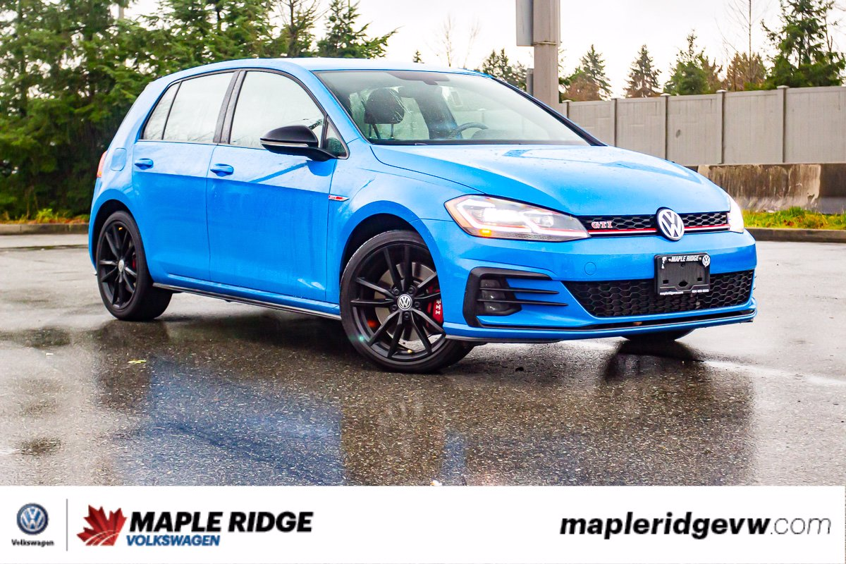 Pre-Owned 2019 Volkswagen Golf GTI Rabbit TARTAN SEATS, LOW KM, NO ACCIDENTS, B.C. CAR!