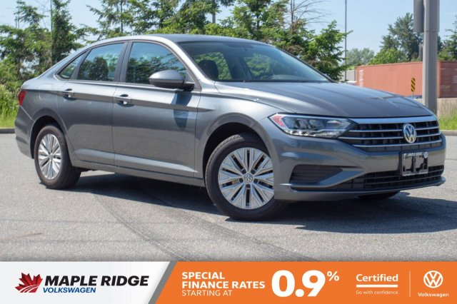 Certified Pre-Owned 2019 Volkswagen Jetta Comfortline LOCAL, SINGLE OWNER, NO ACCIDENTS!