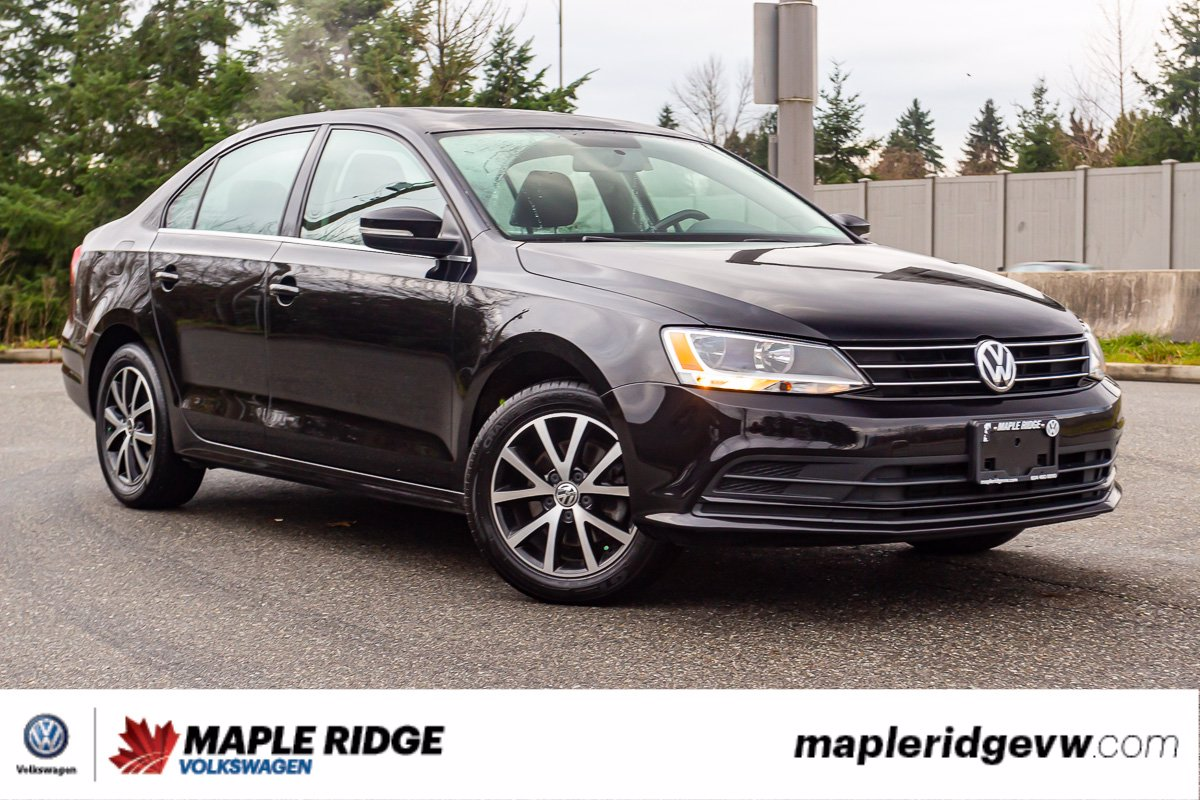 Pre-Owned 2015 Volkswagen Jetta Sedan Comfortline NO ACCIDENTS, LOW KM, LOCAL VEHICLE!