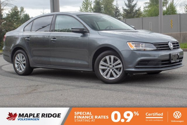 Certified Pre-Owned 2016 Volkswagen Jetta Sedan Comfortline BC CAR, PRICED TO SELL, GREAT ON GAS!