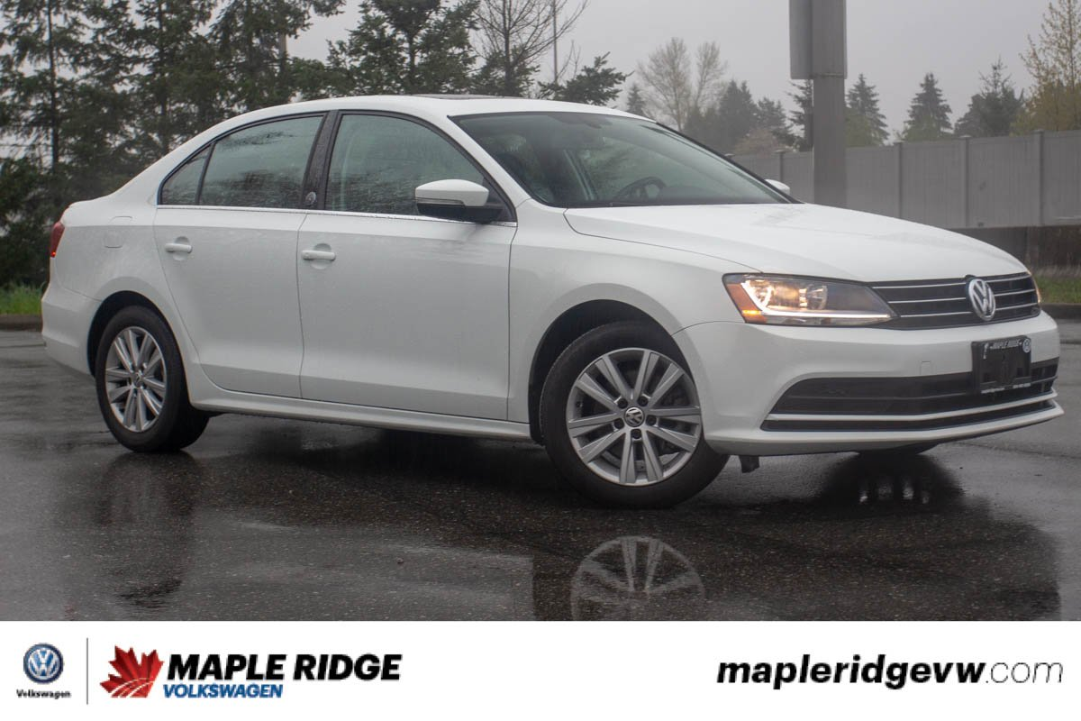 Certified Pre-Owned 2017 Volkswagen Jetta Sedan Wolfsburg Edition EXTREMELY WELL EQUIPPED, BLUETOOTH, HEATED SEATS