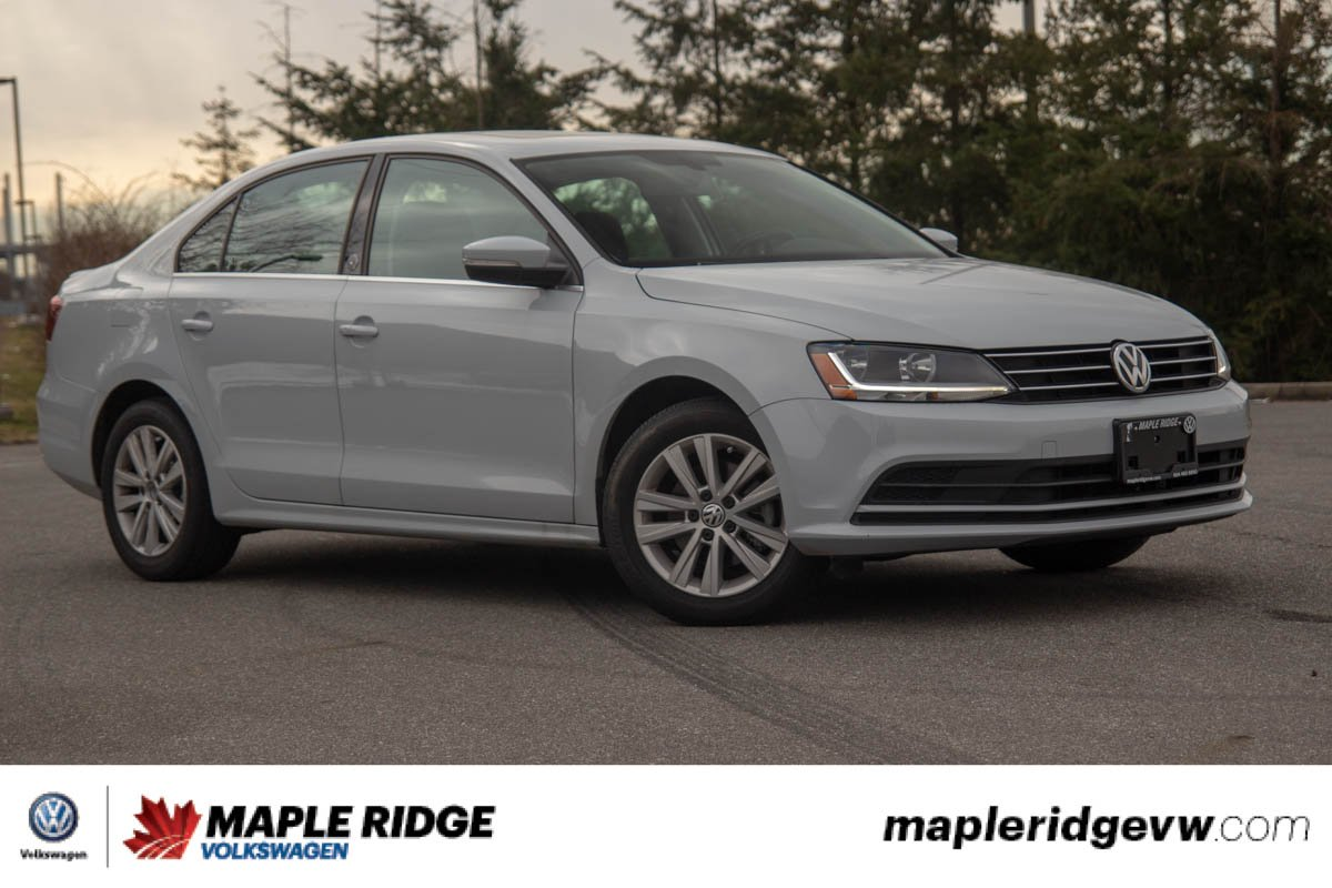 Certified Pre-Owned 2017 Volkswagen Jetta Sedan Wolfsburg Edition GOOD VALUE, WELL EQUIPPED, GREAT COMMUTER!