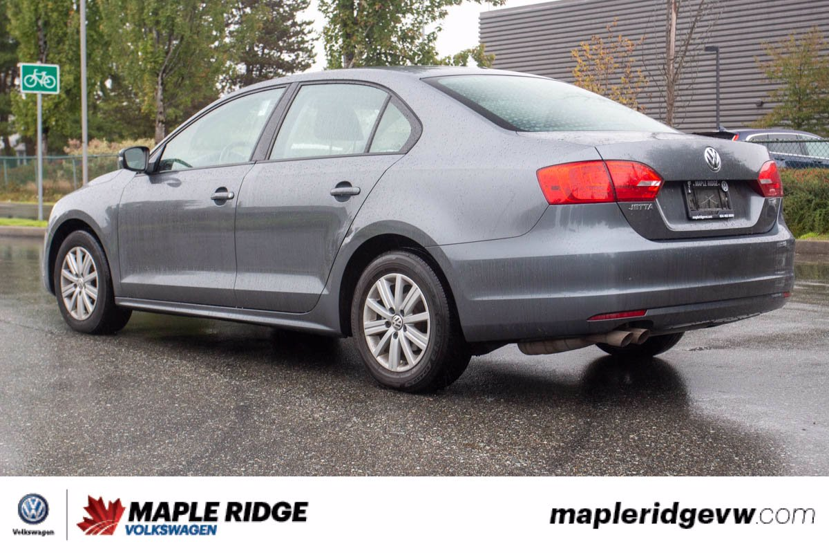 Pre-Owned 2014 Volkswagen Jetta Sedan Comfortline SUNROOF, GREAT CONDITION, LOCAL CAR!