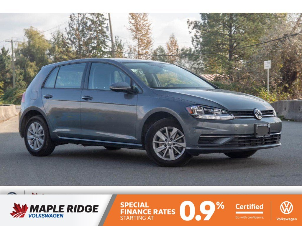Certified Pre-Owned 2018 Volkswagen Golf Trendline NO ACCIDENTS, BC CAR, LOW KM!