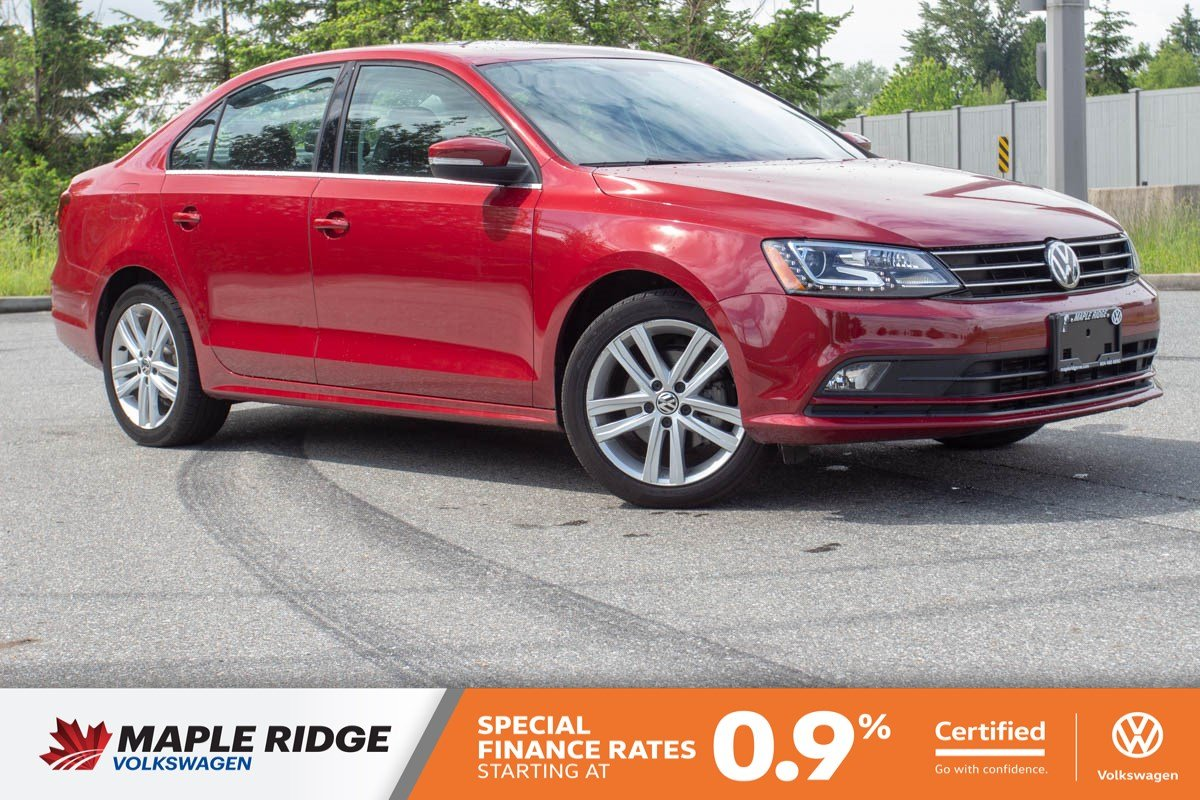 Certified Pre-Owned 2017 Volkswagen Jetta Sedan Highline LOW KM, NO ACCIDENTS, BC CAR!