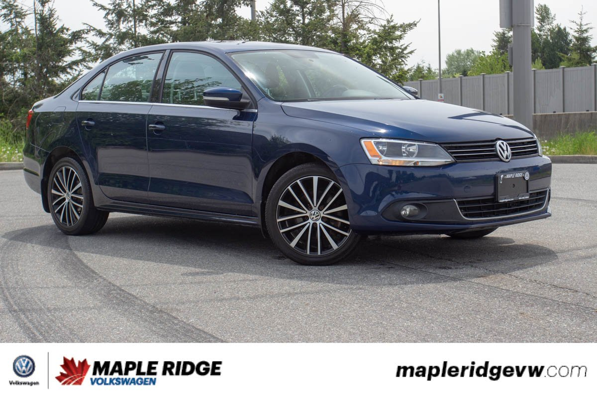 Pre-Owned 2013 Volkswagen Jetta Sedan Highline TDI NO ACCIDENTS, BC CAR, LOW KM!