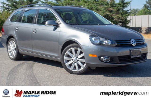 Pre-Owned 2014 Volkswagen Golf Wagon Highline TDI B.C. CAR, SUPER LOW KM, GREAT FUEL ECONOMY!