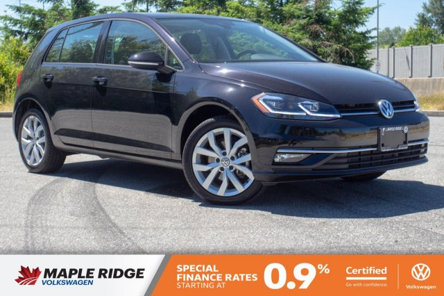 Certified Pre-Owned 2019 Volkswagen Golf Execline ONE OWNER, NO ACCIDENTS, BC CAR!