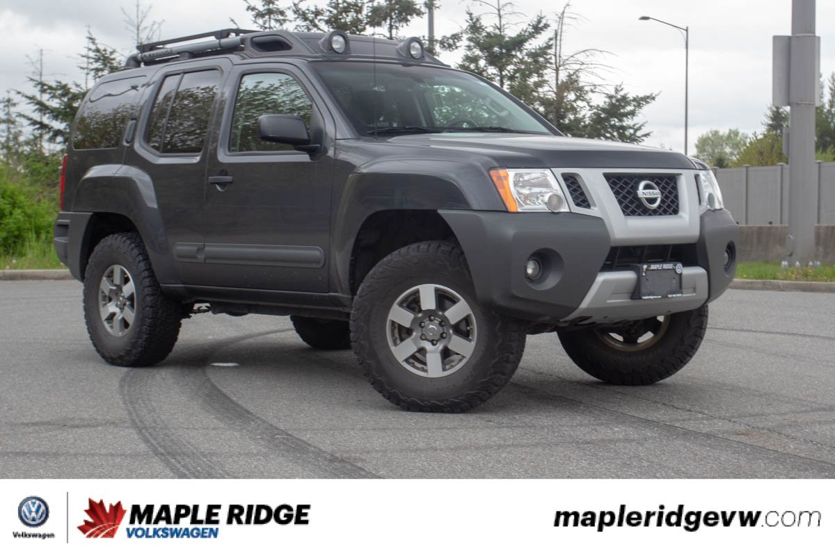 Pre-Owned 2013 Nissan Xterra PRO-4X ON OWNER, NO ACCIDENTS, LOCAL CAR!