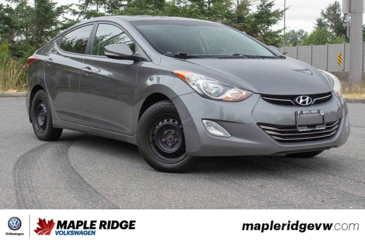 Pre-Owned 2012 Hyundai Elantra Limited ONE OWNER, B.C. CAR, GREAT PRICE!