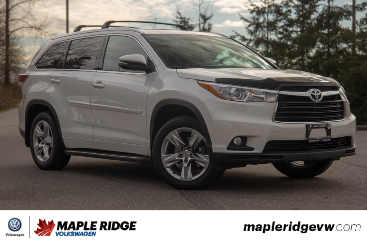 Pre-Owned 2015 Toyota Highlander Limited NO ACCIDENTS, SUPER LOW KM, BC CAR!