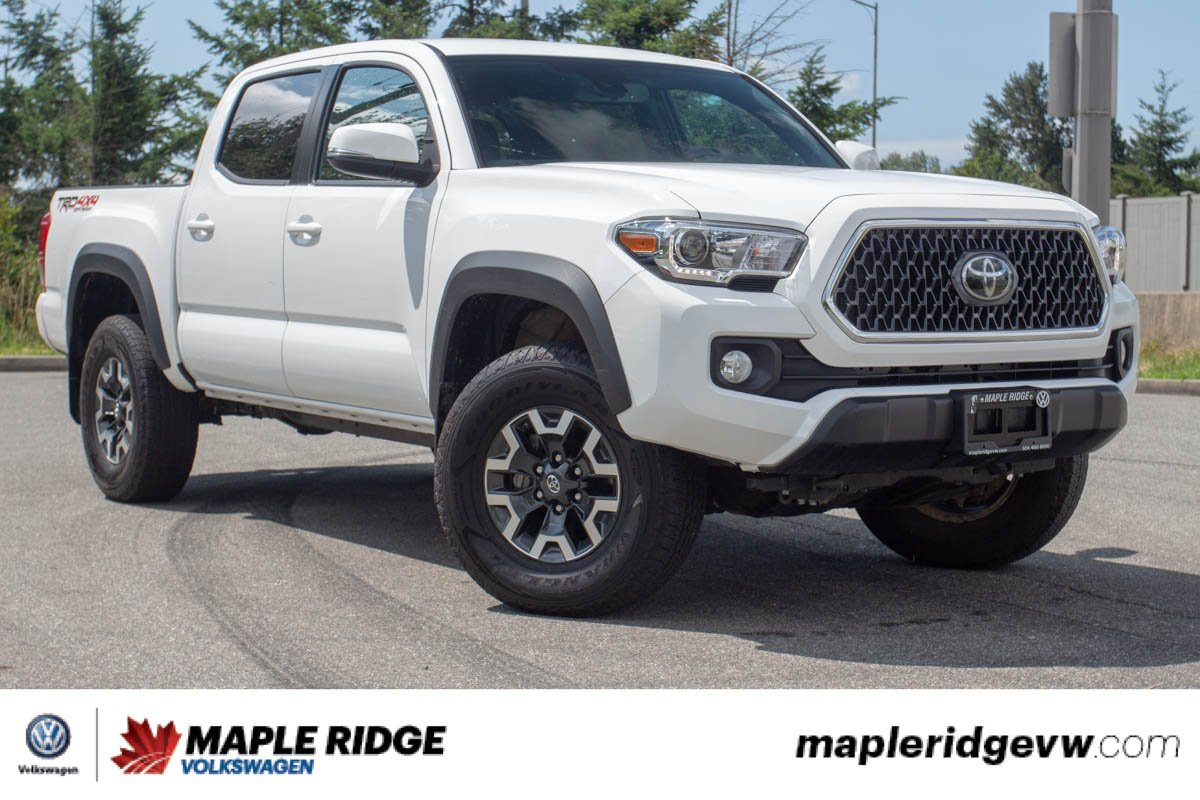 Pre-Owned 2018 Toyota Tacoma TRD Off Road ONE OWNER, LOW KM, B.C. CAR!