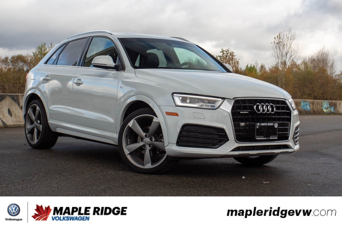 Pre-Owned 2016 Audi Q3 Technik AWD, ONE OWNER, LOW KM, NO ACCIDENTS, BC CAR!