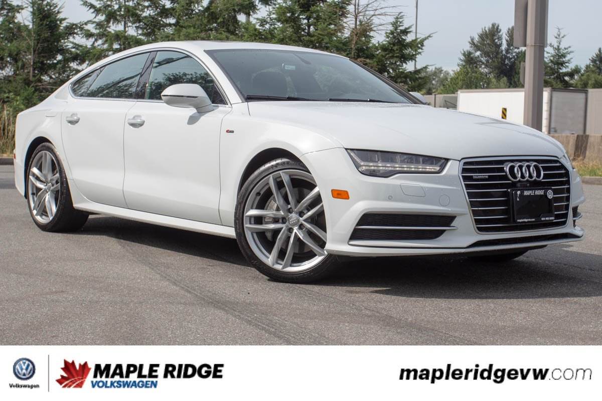 Pre-Owned 2016 Audi A7 Technik TDI LOCAL, NO ACCIDENTS, AMAZING PRICE!