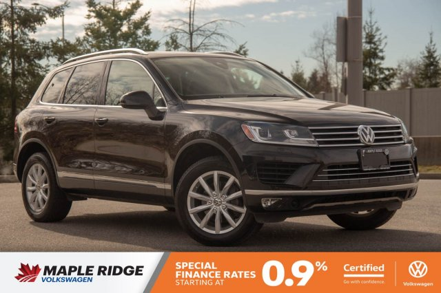 Certified Pre-Owned 2015 Volkswagen Touareg Comfortline GREAT CONDITION, SUPER LOW KM, BC CAR!