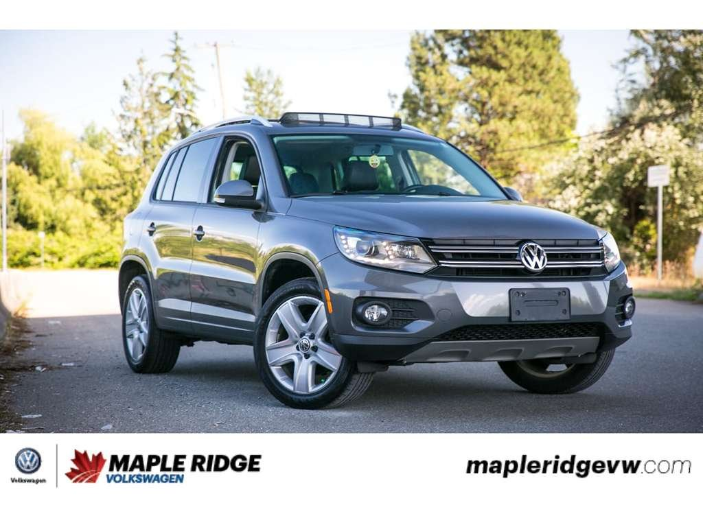 Certified Pre-Owned 2015 Volkswagen Tiguan Comfortline AWD, LOW KM, GREAT CONDITION!