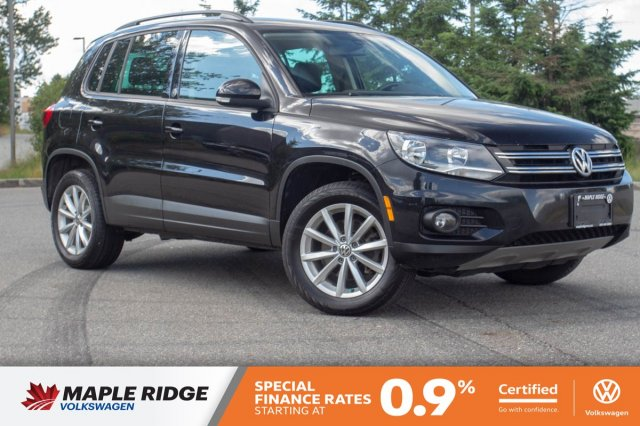 Certified Pre-Owned 2017 Volkswagen Tiguan Wolfsburg Edition ONE OWNER, NO ACCIDENTS, GREAT PRICE!