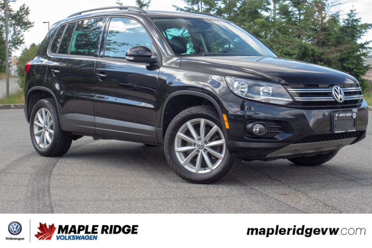 Pre-Owned 2017 Volkswagen Tiguan Wolfsburg Edition ONE OWNER, NO ACCIDENTS, GREAT PRICE!