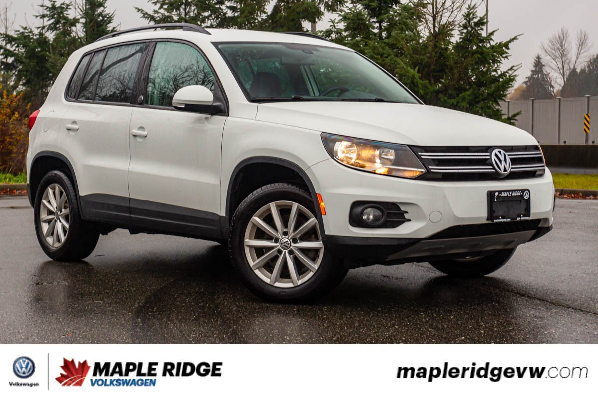 Pre-Owned 2017 Volkswagen Tiguan Wolfsburg Edition AWD, WELL EQUIPPED, GREAT CONDITION, LOCAL!