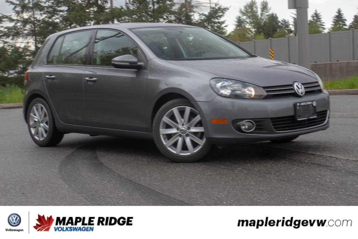 Pre-Owned 2013 Volkswagen Golf Highline ONE OWNER, NO ACCIDENTS, BC CAR!