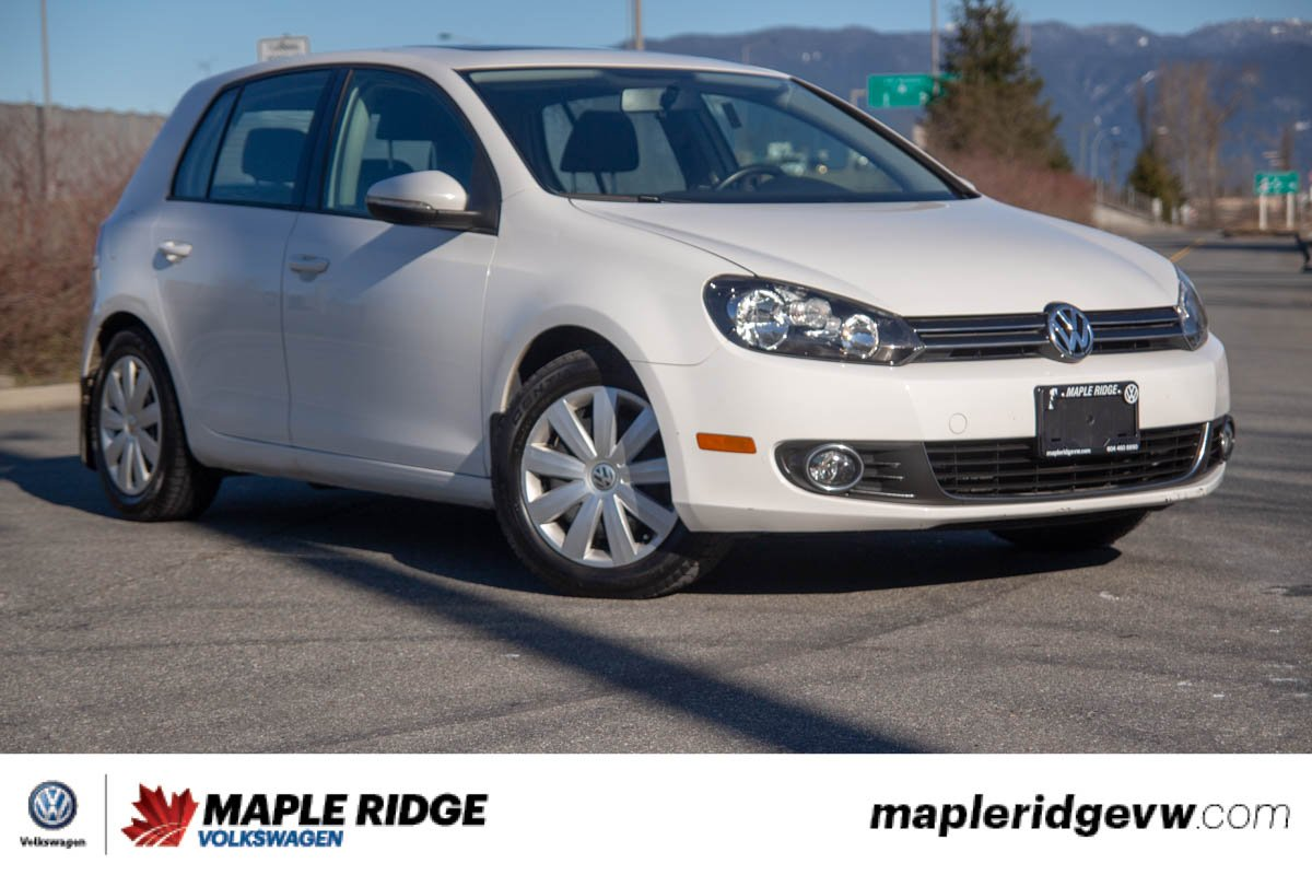 Pre-Owned 2013 Volkswagen Golf Highline TDI BC CAR, LOW KM, DIESEL!
