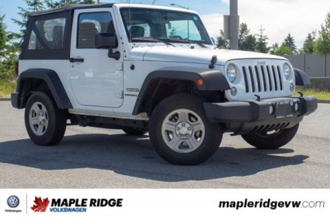 Pre-Owned 2015 Jeep Wrangler Sport ONE OWNER, NO ACCIDENTS, BC CAR!