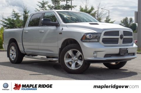 Pre-Owned 2014 Ram 1500 Sport LOCAL TRUCK, LOW KM, CREW CAB!