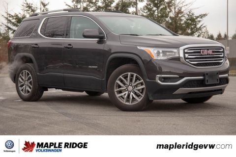 Pre-Owned 2018 GMC Acadia SLE NO ACCIDENTS, BC CAR, ONE OWNER