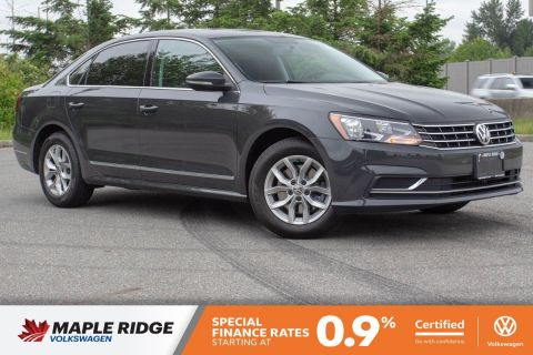 Certified Pre-Owned 2016 Volkswagen Passat Trendline+ ONE OWNER, BC CAR, TONS OF SPACE!