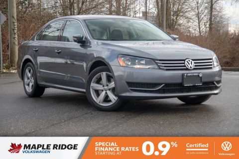 Certified Pre-Owned 2015 Volkswagen Passat Comfortline GREAT VALUE, GREAT CONDITION, GREAT COMMUTER