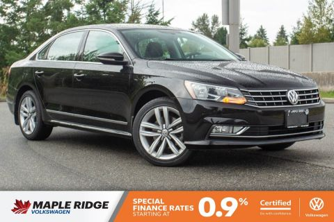 Certified Pre-Owned 2016 Volkswagen Passat Highline SINGLE OWNER, NO ACCIDENTS, LOCAL CAR!