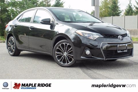 Pre-Owned 2016 Toyota Corolla S SUNROOF, HEATED SEATS, WELL EQUIPPED, GREAT PRICE, B.C. CAR!