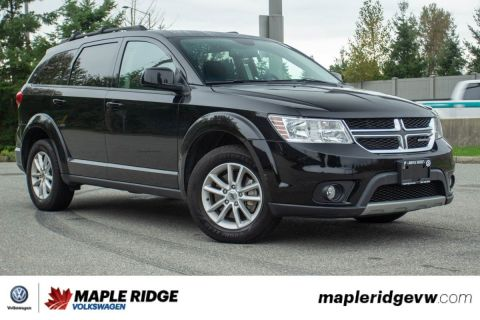 Pre-Owned 2018 Dodge Journey SXT NO ACCIDENTS, B.C. CAR, GREAT DEAL!