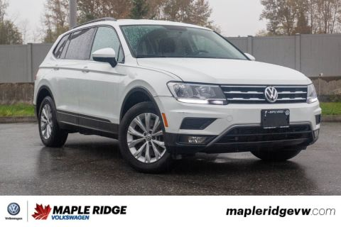 Pre-Owned 2018 Volkswagen Tiguan Trendline AWD, ONE OWNER, NO ACCIDENTS, LOCAL CAR!