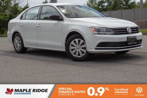 Certified Pre-Owned 2016 Volkswagen Jetta Sedan Comfortline NO ACCIDENTS, BC CAR, MANUAL!